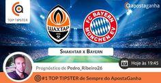 Prognóstico de Pedro_Ribeiro26, #1 Top Tipster AG, para o jogo da Champions entre Shakhtar e Bayern, às 19h45.  http://www.apostaganha.pt/2015/02/17/shaktar-donetsk-vs-bayern-munique-prognosticos-apostas/  #apostasonline #apostasdesportivas #sportsbets #futebol #champions #bayern #shakhtar