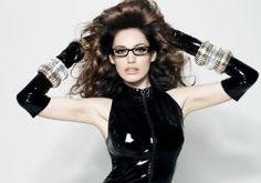 Kelly Brook actress model models women females female girl girls latex wallpaper
