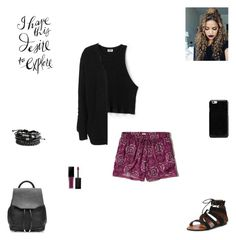 """""""I have this desire to explore"""" by synclairel ❤ liked on Polyvore featuring Hollister Co., Maison Margiela, rag & bone, Smashbox and Topshop"""