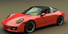 Kit rétro Porsche 991 Targa par Zolland Design