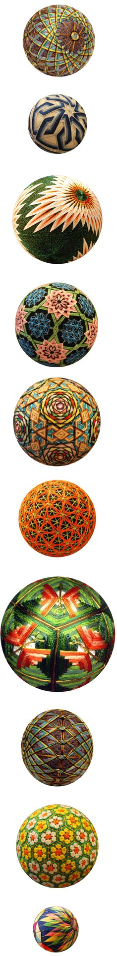 NanaAkua's grandmother of 88 in 2009 created these unbelievable Japanese traditional gifts called Temari . They are of the highest quality that you may ever see and to be given one is of great friendship and faithfulness.  Temari. Meaning 'hand ball' in Japanese. - See more at: http://www.curiouspeeps.net/feature/nanaakua#sthash.zXqe5vAo.dpuf