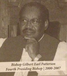 Bishop Gilbert Earl Patterson, Shepherded a mega-church and was a world renowned tele-evangelist credited with bridging denominational barriers by working with non-COGIC ministries toward common goals.  He encouraged the church to remember its spiritual foundation of the past but also to embrace a Holistic Ministry for the future. A humanitarian and philanthropist, he established COGIC Charities which has provided millions of dollars in financial assistance.