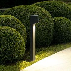 Home Exterior Decorating with Outdoor lighting Outdoor Floor Lamps, Outdoor Lighting, Outdoor Decor, Lighting Ideas, Modern Landscaping, Outdoor Landscaping, Landscaping Ideas, Landscape Design, Garden Design