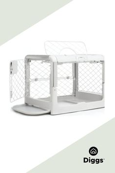 Revol is an attractive, collapsible dog crate that is easy to set up, transport, and store. Revol's design, inspired by baby industry quality standards, incorporates premium materials and ergonomic, easy-to-use doors. Puppy divider included.