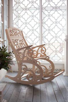 Купить Кресло -качалка - мебель из дерева, КРЕСЛО-КАЧАЛКА, кресло, деревянная мебель, качалка