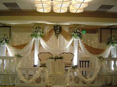 Wedding Stage Decoration Design