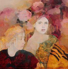 Françoise de Felice » Cinnamon Oil on Canvas