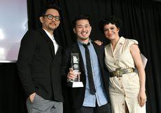 John Cho and Juntin Chon and Alia Showkat in Indie Spirit Film Award 2018