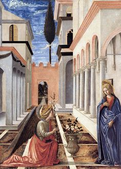 Fra Carnevale - The Annunciation. 1448
