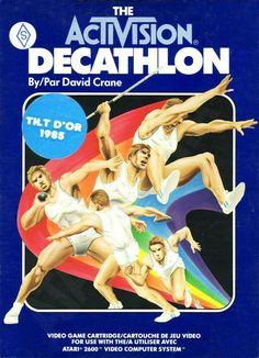 """Juego para la consola Atari 2600  """" DECATHLON """""""