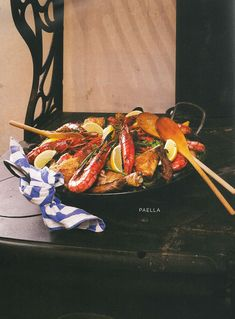 Resep: Paella Our Daily Bread, Kung Pao Chicken, Paella, Yummy Food, Meat, Ethnic Recipes, Delicious Food, Good Food