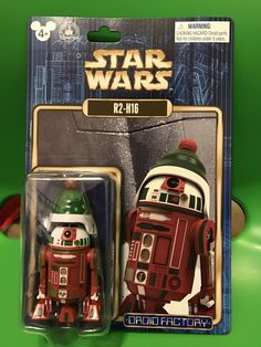 R2-H16 Disney PARKS EXCLUSIVE Build a Droid Bad Noël Star Wars Figure NEW