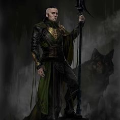 Loki by Aleksi Briclot