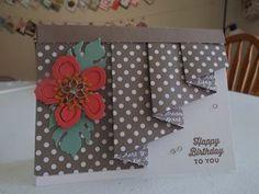 Drapery Folded Card~