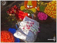 Have you wandered about the flower markets in Bangalore? Ride with us on our bicycle trails rediscover Bangalore. www.unventured.com