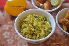 Canbbage Stir Fry | Cabbage Poriyal