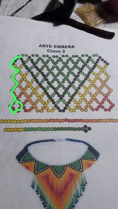 Diy Necklace Patterns, Beaded Jewelry Patterns, Beading Patterns, Bead Making Tutorials, Beading Tutorials, Seed Bead Jewelry, Bead Jewellery, Beaded Banners, Beaded Collar