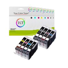 18 Pack Black, Cyan, Magenta, Yellow, Photo Cyan, Photo Magenta, Gray, Light Gray Smart Print Supplies Compatible CLI-42 CLI42 Ink Cartridge Replacement for Canon Pixma PRO-100 Printers