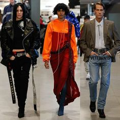 Mulheres homens brancos negros jovens idosos punk clássico militar indiano... Ufa! O desfile de outono 2017 da @vetements_official poderia ser resumido em uma única palavra: diversidade  mas foi muito mais do que isso. Baseada em estereótipos a coleção leva o streetwear a um outro patamar com modelagens nada fáceis (como a calça-bota) mas que trazem frescor ao que estamos acostumados a ver. #LOFFama as jaquetas oversized que prometem ser hit. #vetements  via L'OFFICIEL BRASIL MAGAZINE…