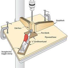Center Drilling For Pen
