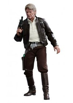 Star Wars Han Solo Sixth Scale Figure by Hot Toys Star Wars Collection, Chewbacca, Figurine Star Wars, Film Science Fiction, Star Wars Han Solo, Star Wars Merchandise, Episode Vii, Star Wars Action Figures, Harrison Ford
