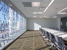 Large type on windows creating shadows - Adobe Utah