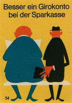 (west?)German matchbox label