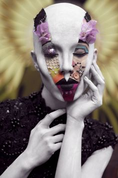 Martha Borja by Enzo Mondejar & Jelly Eugenio in Avant Garde Makeup Challenge