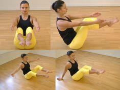 Barre au sol : 12 exercices pour un corps de danseuse