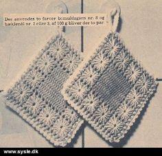 sco Mønster: Hæklet Grydelapper i gammel stil  (fil)
