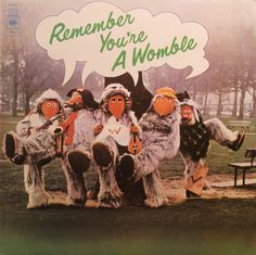 Remember You're A Womble: Wombling Summer Party, Wimbledon Sunset, Banana Rock, The Womble Square Dance, Wellington Womble (Vinyl STEREO LP record) Cool Things To Buy, Old Things, Vintage Tv, My Childhood Memories, My Memory, Back In The Day, Album Covers, Growing Up, Nostalgia