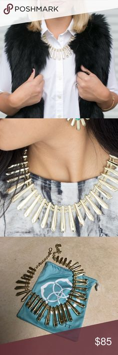 Kendra Scott necklace Never got the chance to wear it! Super cute statement necklace Kendra Scott Jewelry Necklaces