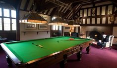 Hever Castle Billiard Room