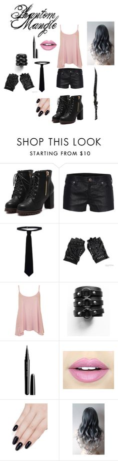 """""""Phantom Mangle"""" by lpspurpledragon on Polyvore featuring True Religion, RED Valentino, WearAll, Marc Jacobs, Fiebiger and ncLA"""