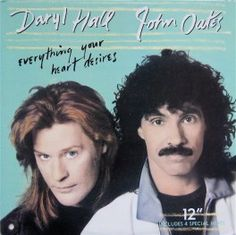 """Radio I, side A, track 3: """"Everything Your Heart Desires"""" by Hall & Oates"""