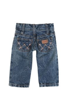 Wrangler All Around Baby Boy's Arrow Embroidered W Pocket Jeans