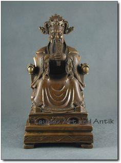 Großer FU, Gott für Glück, Glücksgott, Buddha Glücksbringer 34 cm [C26034] | eBay