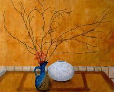 """Saatchi Online Artist Don Gentle; Painting, """"Pot and Vase"""" #art"""