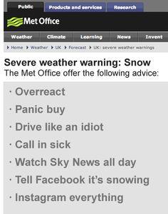 Weather warning #satcap