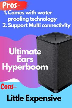 Yaa, Really its Party Proof. are you looking best Bluetooth Speaker for Outdoor Best Portable Bluetooth Speaker, Waterproof Bluetooth Speaker, Party Speakers, Best Build, Boombox, Better Life, Best Part Of Me, Ears, Indoor