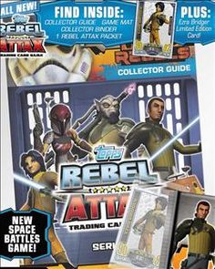 Star Wars Rebel Attax Trading Cards