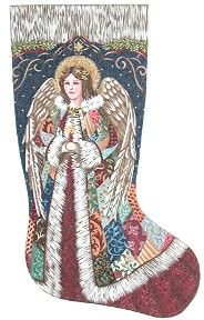 Mary Beale Cross Stitch Christmas Stocking They Tell The