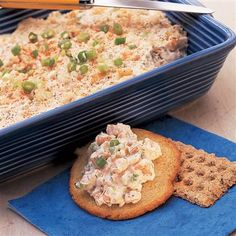 This hot, cheesy shrimp spread won't last long, so be sure to make extra. To give it a spicy kick, add 1/4 teaspoon McCormick Ground Red Pepper.
