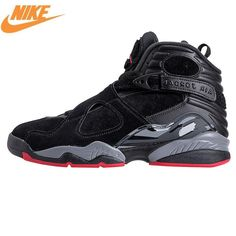 finest selection c6918 191d3 NIKE Air Jordan 8 Cement Black - 305381 022