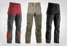 Fjall Raven Keb Trousers - Lumberjack.com    http://www.fjallraven.us/collections/pants-shorts/products/keb-trousers