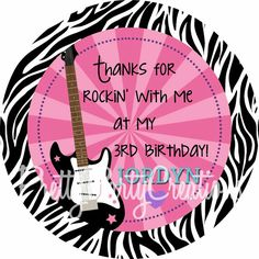 Your place to buy and sell all things handmade Barbie Birthday, Barbie Party, Birthday Stuff, Kids Microphone, Kendall Birthday, Rock And Roll Birthday, Rock Star Party, Bday Girl, 6th Birthday Parties