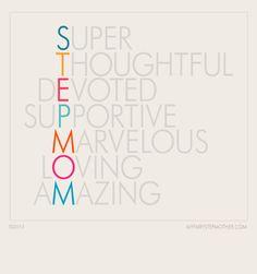 Stepmom poster! Repin to spread the love.