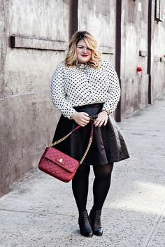 @Nicolette Mason in the New Look Heart Print Top from #gwynniebee