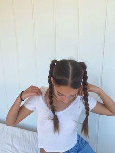 Pretty Hairstyles, Easy Hairstyles, Hair Inspo, Hair Inspiration, Hair Streaks, Dye My Hair, Aesthetic Hair, Hair Day, Hair Looks