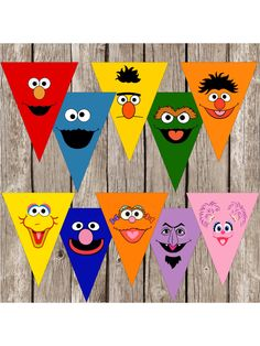 Sesame Street Party Banner Sesame Street by LittleMsShutterbug Sesame Street Party, Sesame Street Birthday, Second Birthday Ideas, Baby First Birthday, Elmo Party, Diy Party, Party Ideas, Elmo Birthday, 2nd Birthday Parties